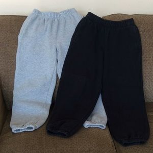 Two Pair of Boys Sweatpants.
